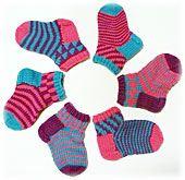 Chippy Socks for Kids pattern by Lynn DT Hershberger - handschuhe sitricken Hand Knitting Yarn, Knitting Socks, Baby Knitting, Wool Socks, Knitting Designs, Knitting Projects, Knitting Patterns, Hand Knit Blanket, Knitted Blankets