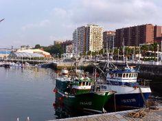 Puerto viejo de Santurtzi, País Vasco, España