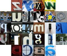 Backwards letters by Tom Magliery