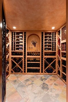 One of the ultimate wine cellars