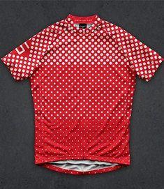 polka dot cycling jersey design d32f156421502