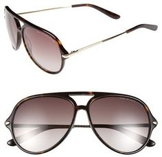 MARC BY MARC JACOBS 58mm Aviator Sunglasses