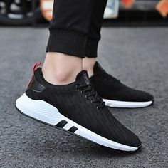 Men's Casual Shoes Sensible Laisumk Plus Size High Quality 2019 Mens Casual Set Of Feet Shoes Autumn Lightweight Breathable Flats Fashion Male Shoes