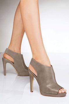 Women's Shoes - Next Peep Toe Shoe Boots - EziBuy New Zealand