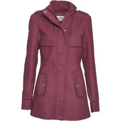 Vero Moda Womens Emilia Coat Fig £26.99