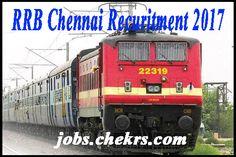 RRB Chennai Recruitment #Recruitment #RRBChennai #jobs #india
