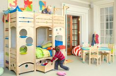 CedarWorks' Rhapsody collection, a beautifully designed line of playsets and playhouses especially made for indoor active play.