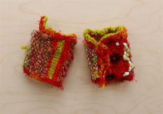 art yarn cuff(2) woven