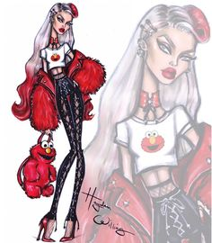 #Elmo - The #SesameStreet collection by Hayden Williams| Be Inspirational ❥|Mz. Manerz: Being well dressed is a beautiful form of confidence, happiness & politeness