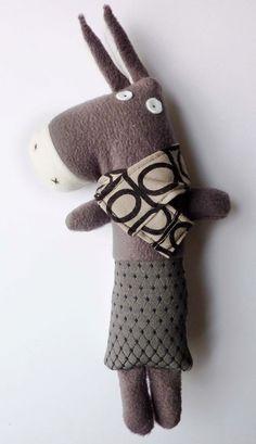donkey stuffed toy