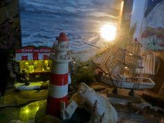 """God Through Anne Terri With The Holy Spirit: Nativity Scene, Sea Figures  AMEN"""