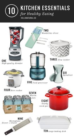 10 Best Healthy Kitchen Tools | HelloNatural.co