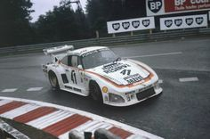1979 - Porsche 935 - Klaus Ludwig, Bill Whittington, Don Whittington Porsche 935, Porsche Cars, Sports Car Racing, Race Cars, Auto Racing, Le Mans, Porsche Factory, Vw Group, Indianapolis Motor Speedway