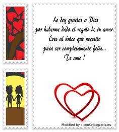 palabras originales de amor para mi pareja,textos bonitos de amor para whatsapp : http://www.consejosgratis.es/palabras-bonitass-para-mi-enamorado/