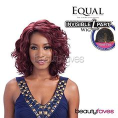 Freetress Equal Deep Invisible L Part Synthetic Lace Front Wig TAMMI - #1B Unknown
