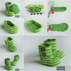 Botitas verde