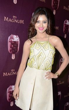 urvashi rautela at magnum icecream flavour launch