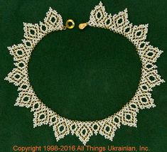 Gherdany Bead Jewelry # GN16173 on AllThingsUkrainian.com