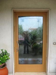 Portoncini d 39 ingresso con chiusure di sicurezza in pvc o - Portoncini ingresso legno alluminio prezzi ...