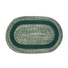 Oval Braided Rug (2'x4'):Oatmeal Dark Green,- Dark Green Band by Stroud Braided Rugs. $69.00. Reversible and fade resistant (color goes all the way through each fiber, not just on top). Indoor or outdoor use on any surface (wood, tile, brick, etc). Hand-crafted in North Carolina. Durable, high-quality, long-lasting material. Stain resistant and machine washable (lay flat to dry). This high-quality rug is hand-crafted by American workers at Stroud Braided Rugs - a famil...