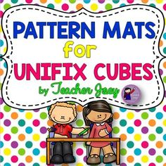 Recognizing and making patterns is a fundamental skill that should be mastered by students to develop good literacy and numeracy skills. This unit is composed of 5 sets of patterns (with three strips each) suitable for Pre-K, Kindergarten and 1st Grade students who are beginning or needing practice in recognizing and making patterns.