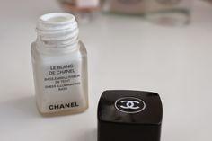 Go for the Glow ~ Chloe Perkins Chanel le Blanc de Chanel
