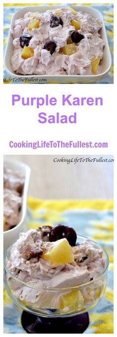 Watch the Purple Karen Salad cooking video