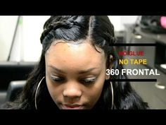 360 Lace Frontal Sew-In ▪️ Aliexpress Luvin Hair Review  #SALONWORK - YouTube
