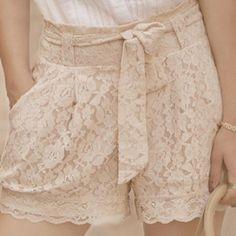 loving lace shorts