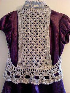 Crochet bolero CARAMELO ARDIENTE es... LA PRINCESA DEL CROCHET: chalequito circular en crochet