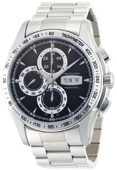 Hamilton Men's H32816131 Lord Hamilton Black Day Date Chronograph Dial Watch