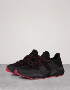 purchase cheap 0dac8 5dac6 Bershka United Kingdom - Men s technical sports shoes with contrasting sole  Modern Outfits, Sports Shoes