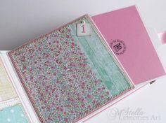 ¡Listo para enviar en 2 días hábiles!  Este álbum de bebé chica podría ser tu bebé ducha regalos únicos. Puede sorprender a la madre del bebé con una linda rosa y álbum de fotos de chica de bebé blanco.  MEDIDAS Y CARACTERÍSTICAS:  -Tamaño de la cubierta: 6 3/4 x 6 pulgadas ¾ (o 17 x 17 cm) y la columna es 3 1/2 pulgada (9 cm). -Tamaño de páginas interior: x 6 1/4 pulgada (o 16 x 16 cm) -El álbum tiene totalmente 24 páginas y tapas de cartón duro utilizable 2 -Hay 2 páginas por...