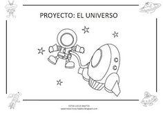 "LA CAJA MÁGICA DE LA ""SEÑO"" MERCEDES: ACTIVIDADES DEL UNIVERSO Doodle Characters, Space Activities, Space Theme, Kindergarten Classroom, Cool Baby Stuff, Solar System, Projects For Kids, Teaching, How To Plan"