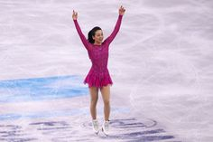 Mao Asada Photos - Mao Asada of Japan skates in the Ladies Short Program during Day 4 of the ISU World Figure Skating Championships 2016 at TD Garden on March 31, 2016 in Boston, Massachusetts. - ISU World Figure Skating Championships 2016 - Day 4