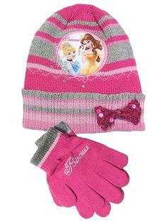 Prinsessat-pipo & sormikkaat, pinkki
