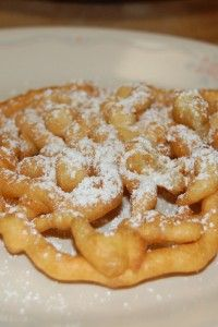 Classic Funnel Cakes Dessert Recipe for those of us who LOVE carnival food.