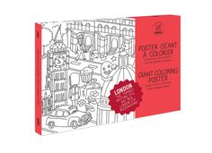 This Giant Colouring Poster by OMY Design & Play is a great gift idea for #Christmas http://www.stonemarketing.com/OMY-design-and-play-giant-colouring-poster-london-theme