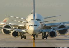 Big boys should always look after small guys - Continental B777 and B737-883