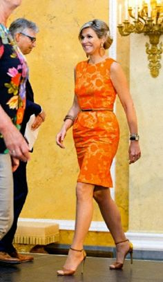 Queen Maxima presents the 'Appeltjes van Oranje' (Apples of Orange) awards for social initiatives supported by the Oranje Foundation in Palace Noordeinde in The Hague, The Netherlands, 22 May 2014.