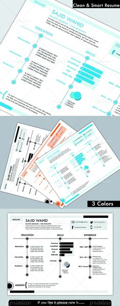 Attractive Resume Template Site, Templates, Resume Ideas, Creative Resume, Mobile App, Graphics, Chart, Marketing, Education