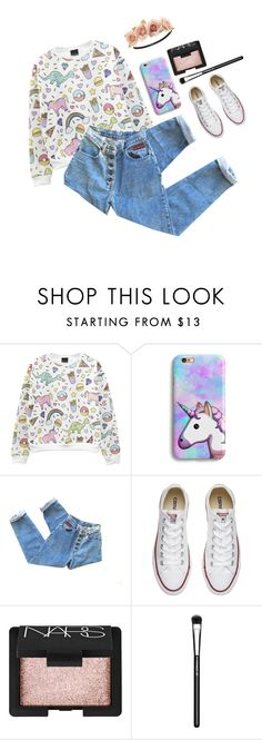 """""""Requested fashion set {Aprilmay-fashions)"""" by seals23 ❤ liked on Polyvore featuring Converse, NARS Cosmetics, MAC Cosmetics, Charlotte Russe and SealsFashionSets"""