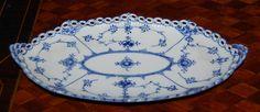 PP Serv Bowl 1115 Blue Fluted Full Lace Royal Copenhagen | eBay