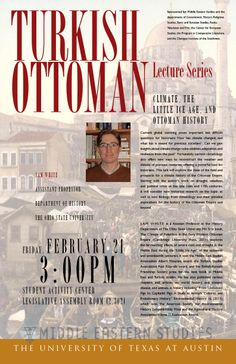 Turkish Ottoman Series: Climate, the Little Ice Age, and Ottoman History with Sam White