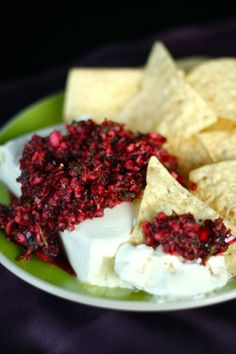 Cranberry Salsa - Amazing appetizer for Christmas!