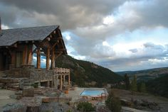 Sky Art Lodge - rustic - exterior - other metro - Lohss Construction