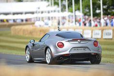 AlfaRomeo 4C Goodwood Festival of Speed 2013
