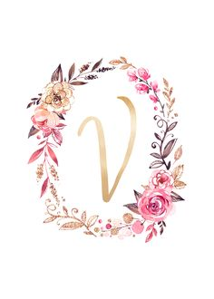 Free Glitter and Glam Monogram Printables Monogram Wallpaper, Alphabet Wallpaper, Name Wallpaper, Flower Wallpaper, Screen Wallpaper, Iphone Wallpaper, Stylish Alphabets, Floral Letters, Instagram Highlight Icons