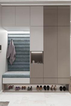 Wardrobe Room, Wardrobe Furniture, Hallway Furniture, Small Room Design, Home Room Design, Home Interior Design, Hallway Designs, Foyer Design, Hallway Ideas
