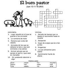 El Buen Pastor - Crucigrama